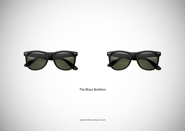 Brille Blues Brothers
