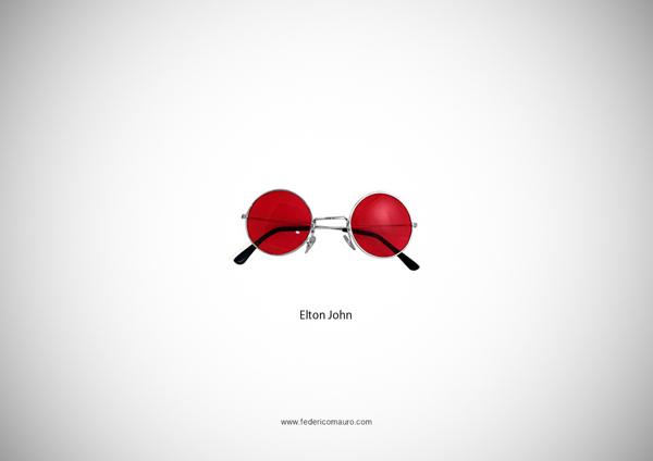 Brille Elton John