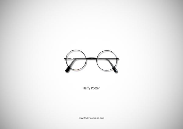 Brille Harry Potter