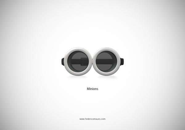 Brille Minions