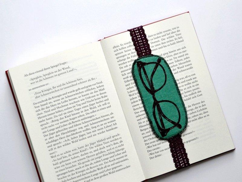 Brillen-Lesezeichen