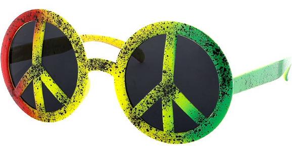 Peace-Brille