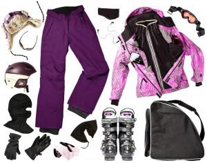skibrillen outfit