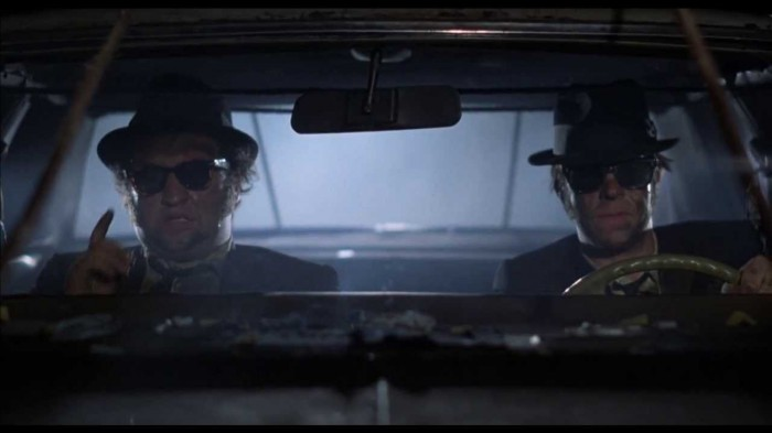 Brillen Stars - Wayfarer in Blues Brothers