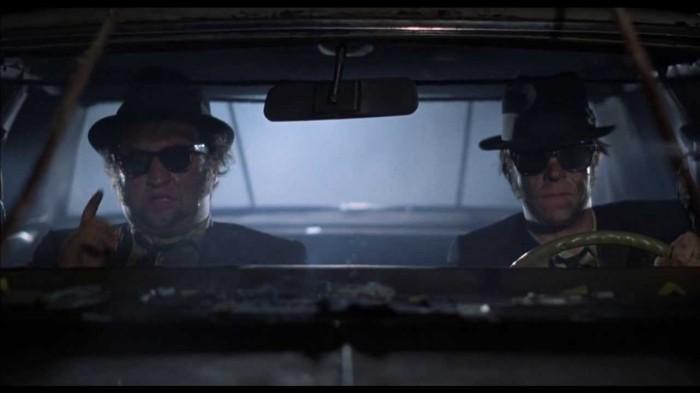 Brillen Stars - Wayfarer in Blues Brothers
