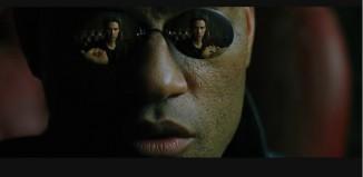 Matrix - Sonnenbrille von Morpheus