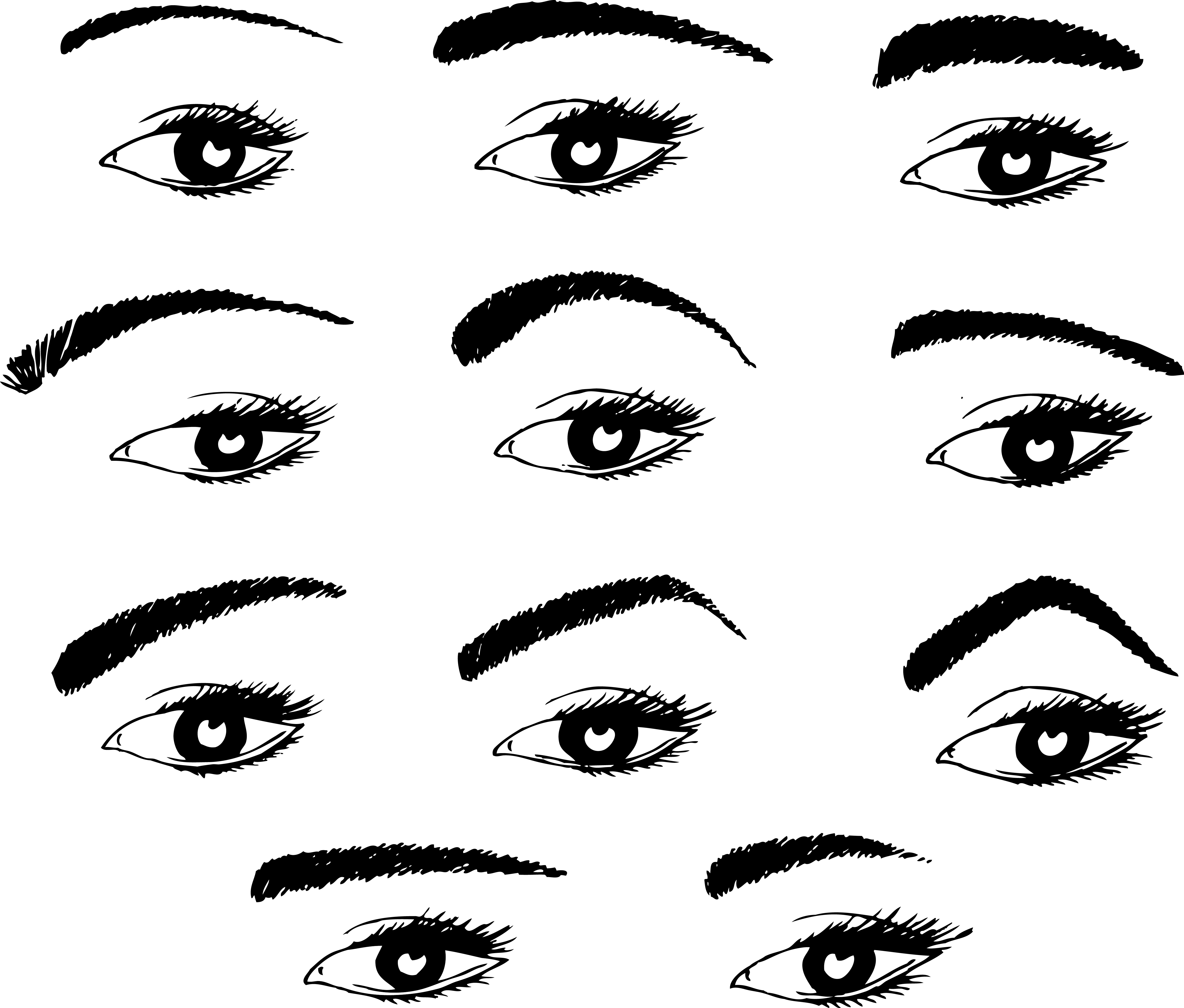 Die Augenbrauen Der Rahmen Des Gesichts Brillen Trends Themen